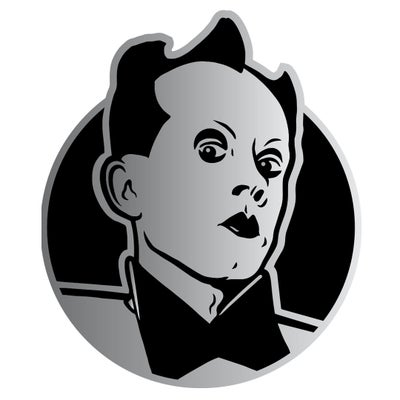 Image of Klaus Nomi Enamel Pin