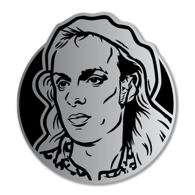 Image of Brian Eno Enamel Pin