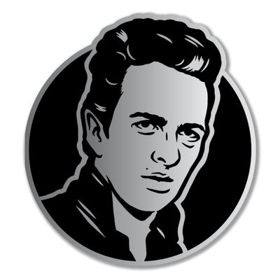 Image of Joe Strummer Enamel Pin