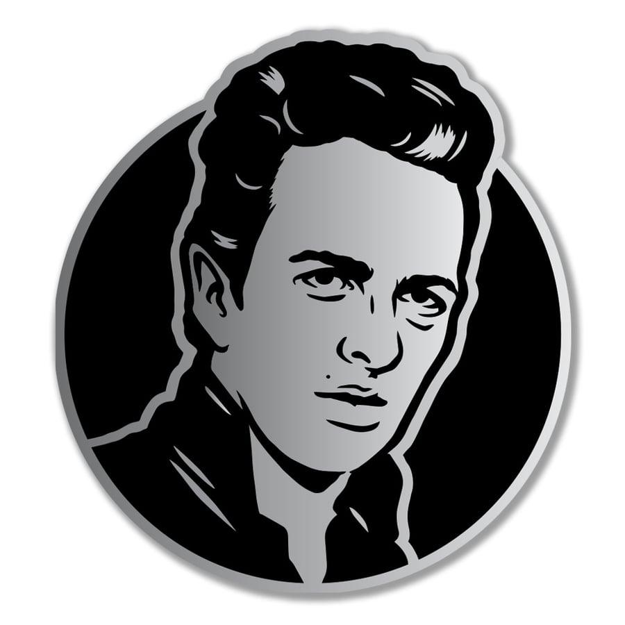 Image of Joe Strummer Enamel Pin