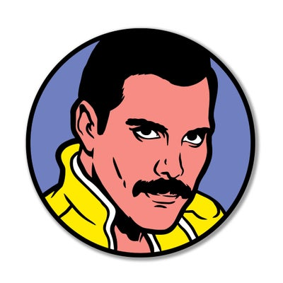 Image of Freddie Enamel Pin