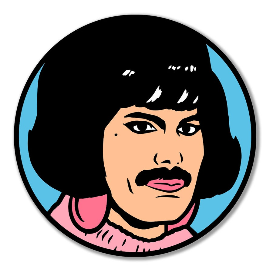 Image of I Want to Break Free Enamel Pin