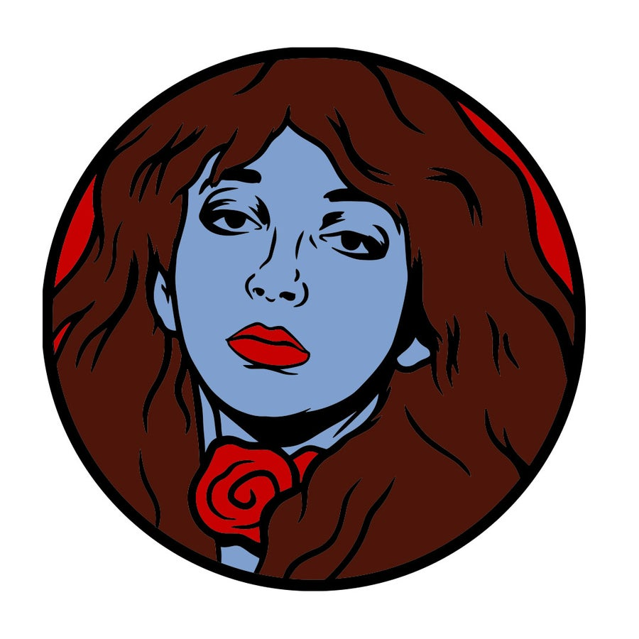 Image of Kate Bush Enamel Pin