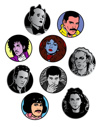 Image of Enamel Pin 9-Pack