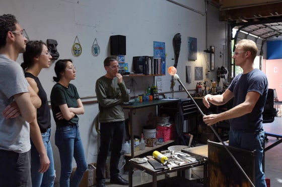 Image of Team Event Glass Blowing San Francisco, Oakland, Alameda