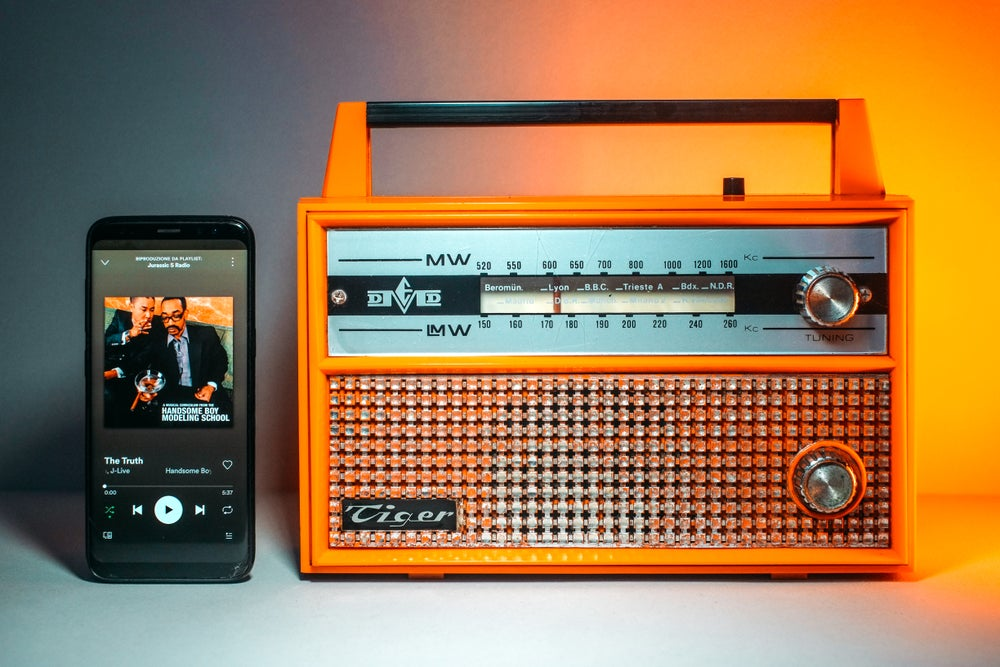 Image of DMED TIGER (1965) RADIO VINTAGE BLUETOOTH