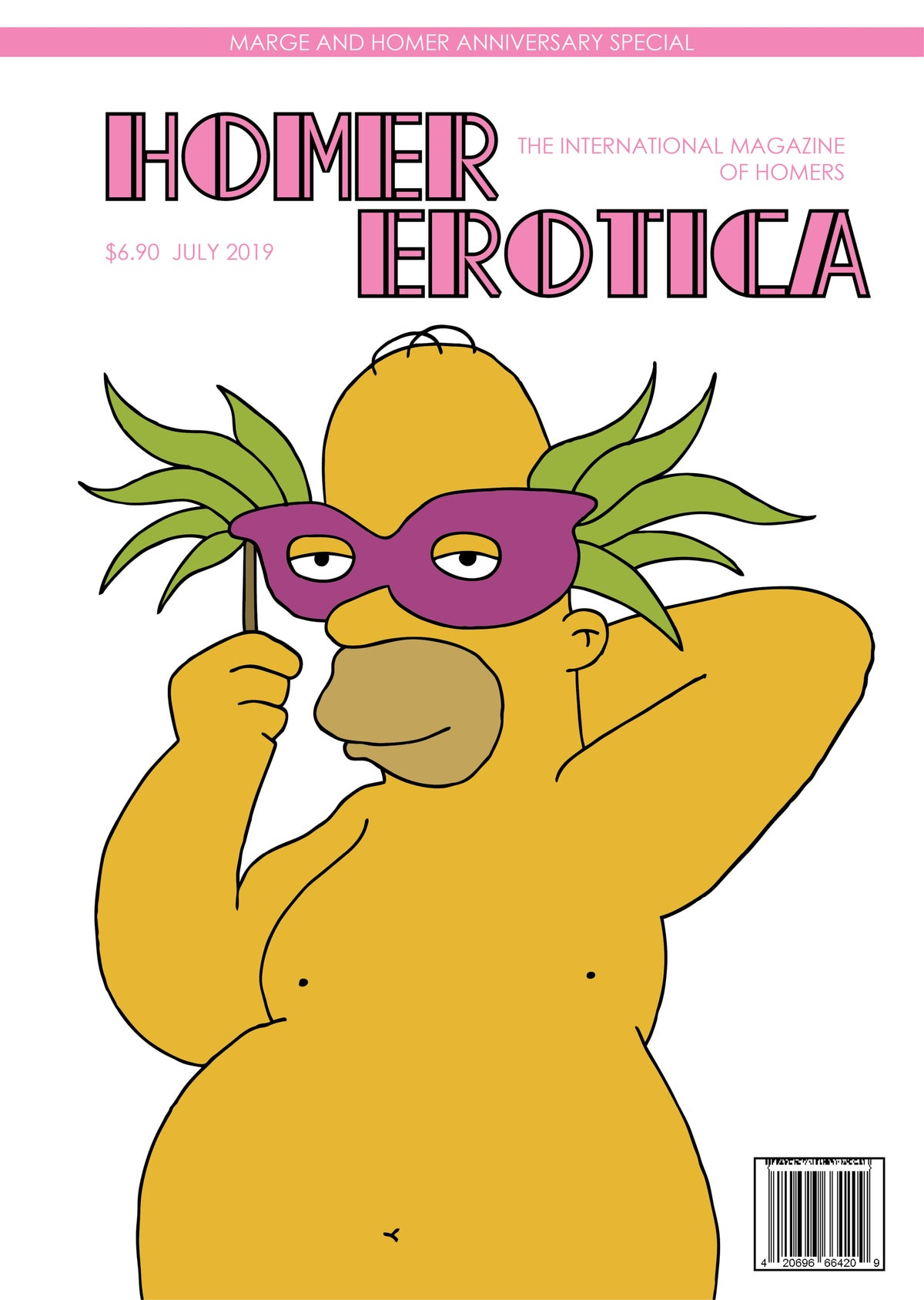 Image of Homer Erotica poster
