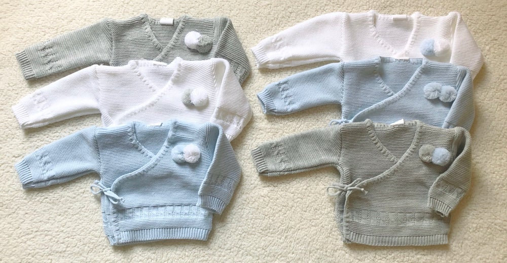 Image of Baby crossover cardigan