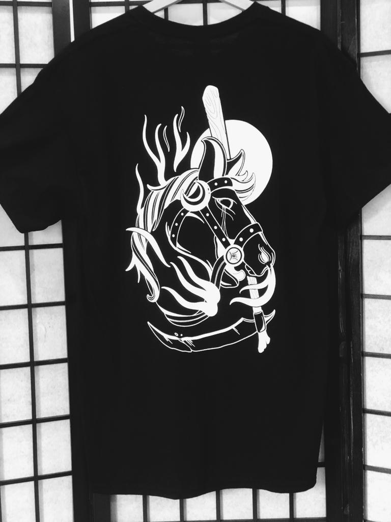 Image of Death horse tee by Benny smalls