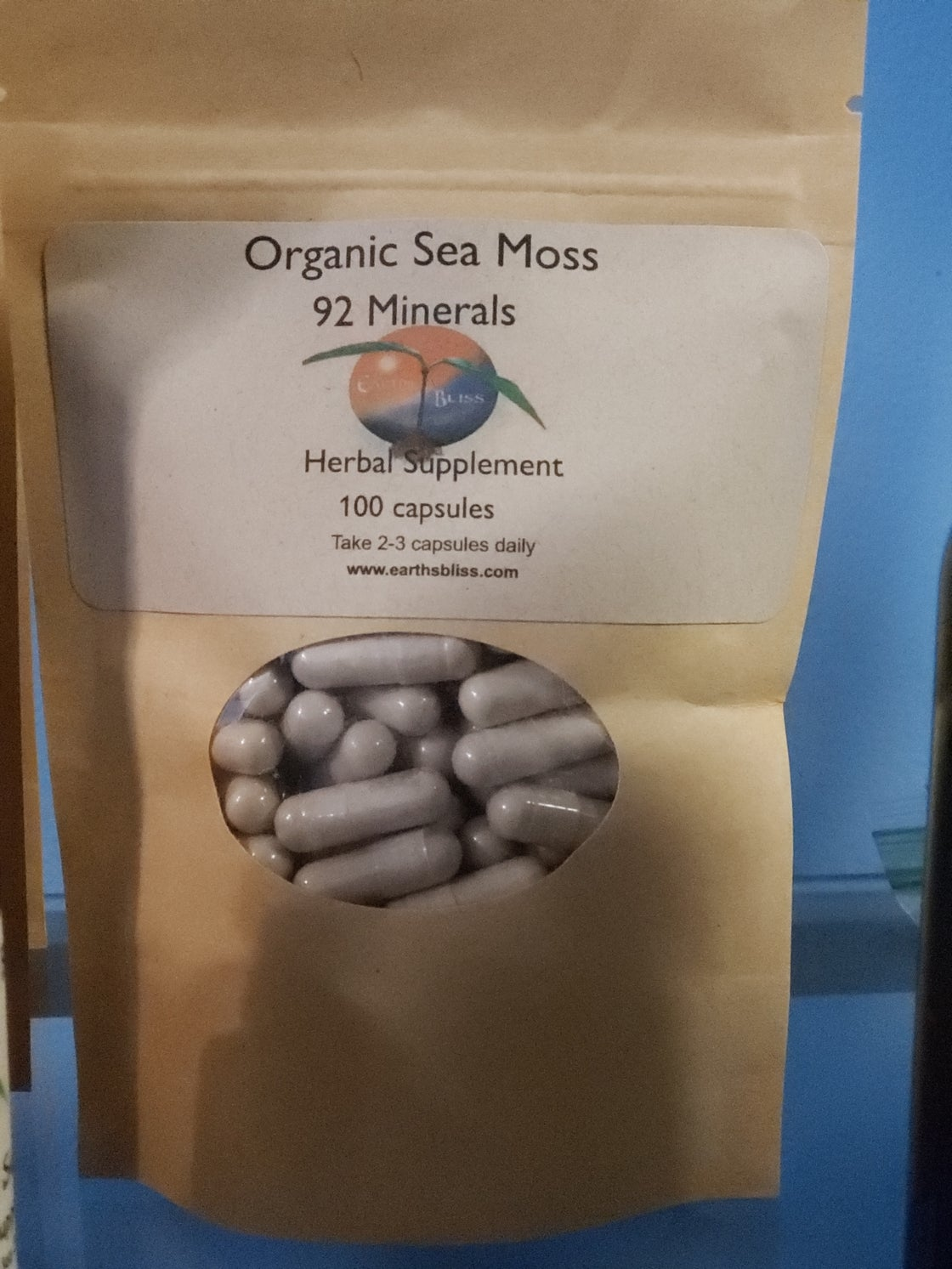 Image of Irish Sea Moss Herbal Capsules