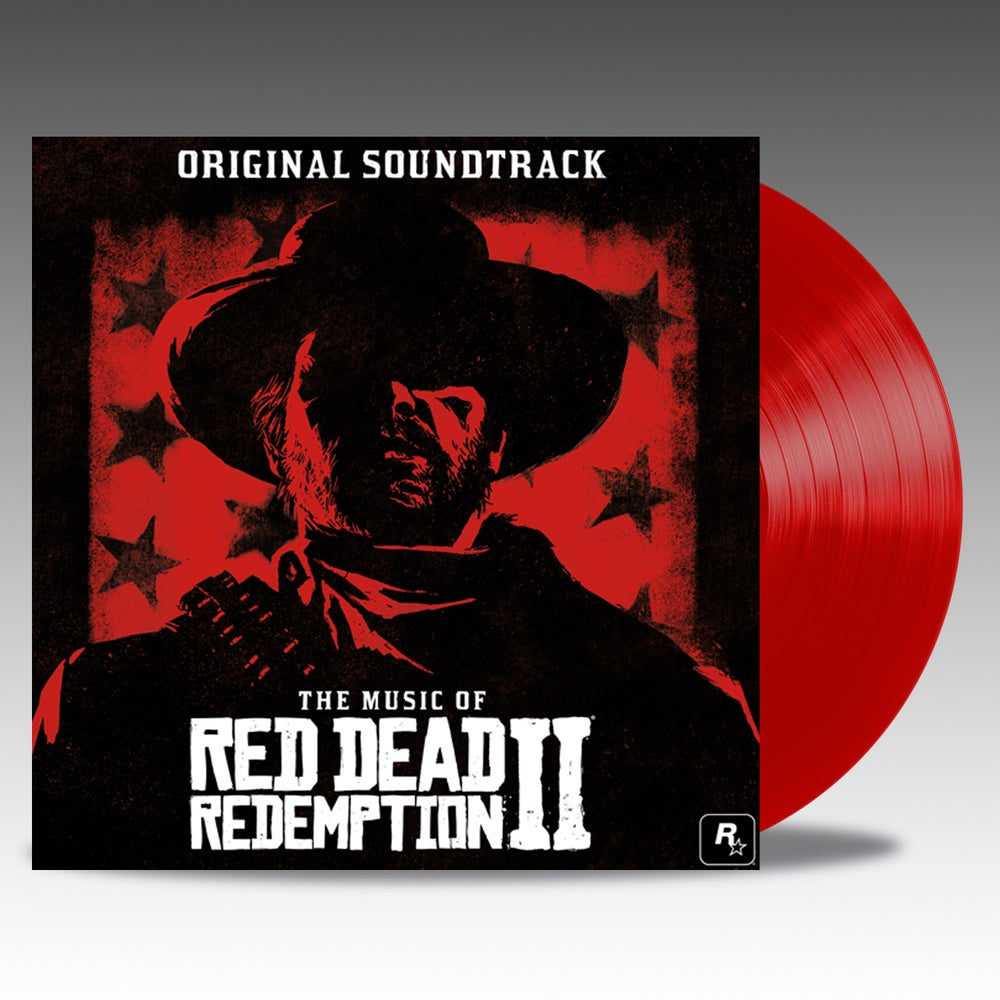 Image of The Music Of Red Dead Redemption 2 Original Soundtrack 'Translucent Red' Vinyl - Various Artists