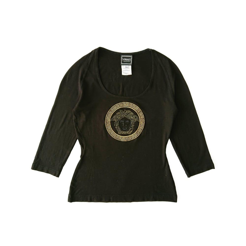 Image of Versace Logo T shirt