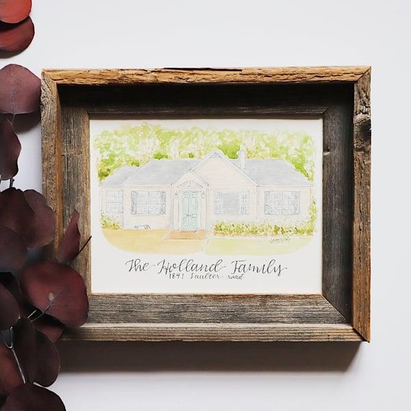 Image of House Painting - Custom
