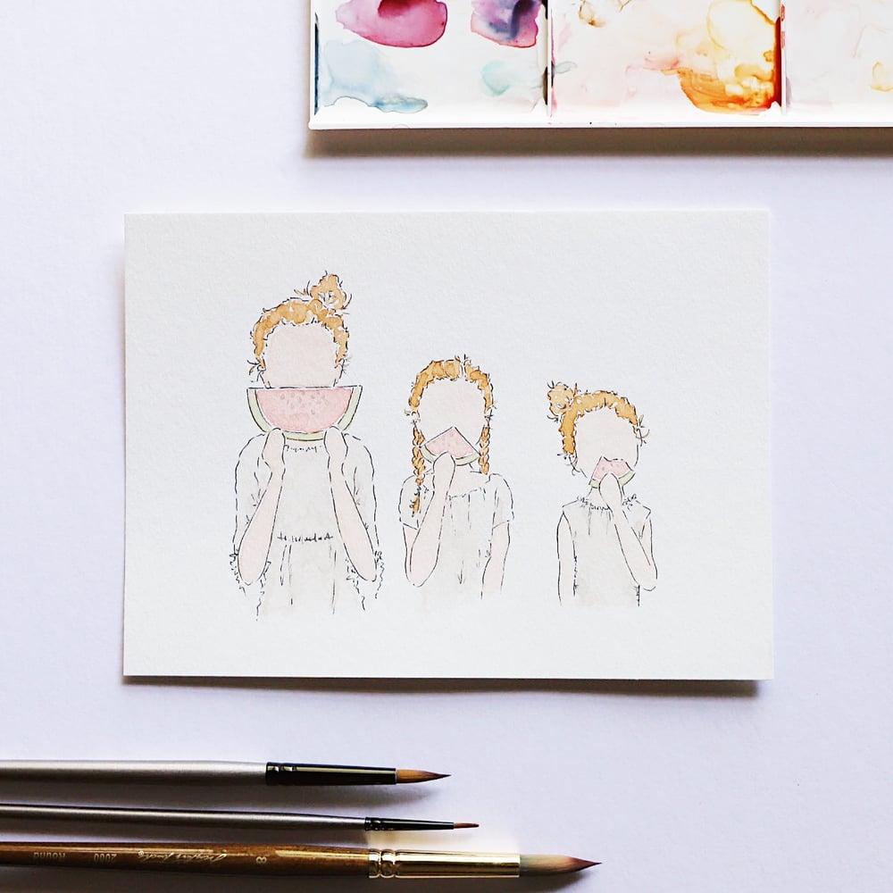 Image of Portrait Painting - 8 x 10 Custom