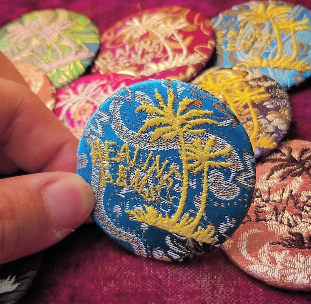 Image of Embroidered Pin (Random Color)