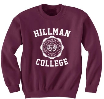 "Image of ""Hillman"" sweatshirt"