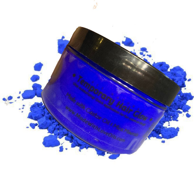 Image of Sapphire Temporary Hair Glow Color System