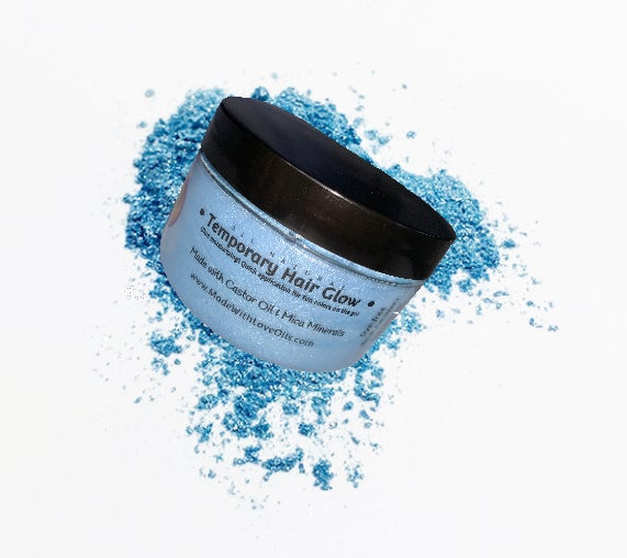 Image of Aquamarine Temporary Hair Glow Color System