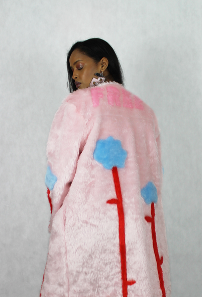 Image of BLOOM FREE faux fur