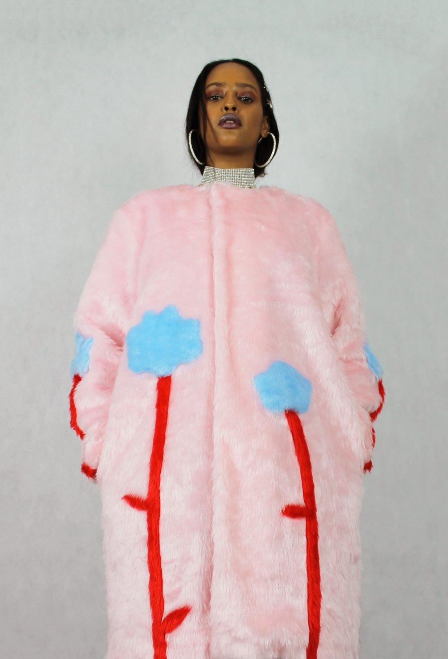 Image of BLOOM FREE faux fur