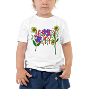 Image of COMING SOON: Jersey City flowers - toddler tshirt