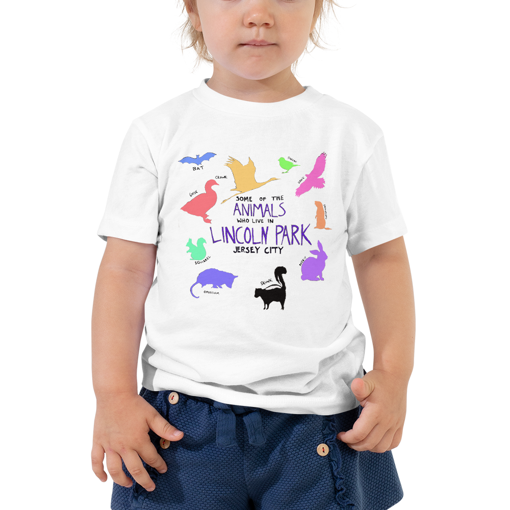 Image of Some of the Animals in Lincoln Park (Jersey City) - toddler size t-shirts