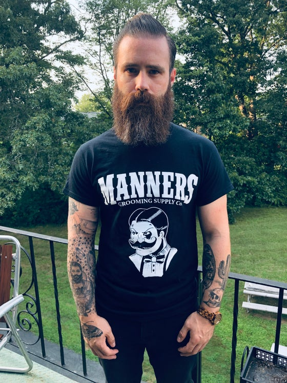 Image of Manners LOGO T-SHIRT (S-XXL)