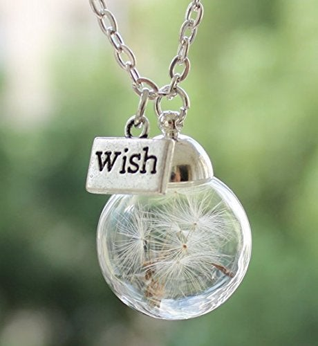 Image of Dandelion Wish Necklace