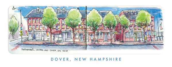 Image of Central Ave, Dover NH