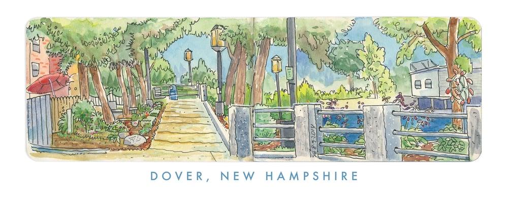 Image of Joe B. Parks Riverwalk Gardens - Dover, NH