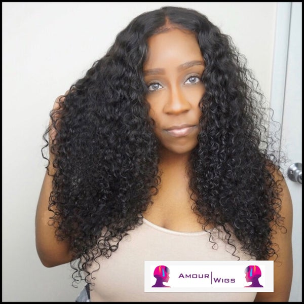 Image of Curly Lace Front Wig