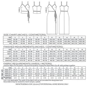 Image of CALVIN WRAP DRESS / TOP (PDF)