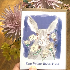 "Image of ""Happy Birthday Magical Friend!"" Card"