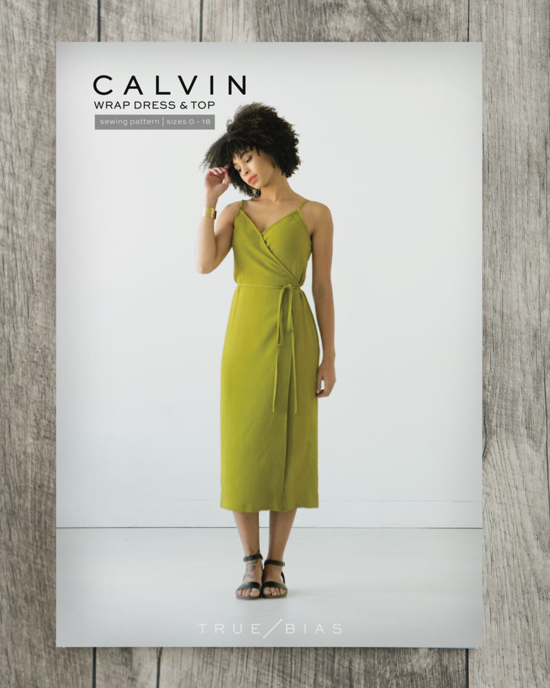 Image of CALVIN WRAP DRESS / TOP (PAPER)