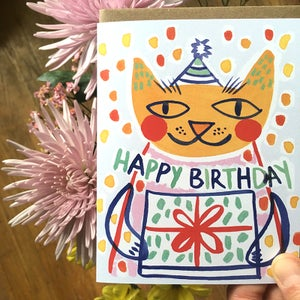 Image of Happy Birthday (Cat), Card