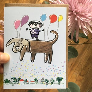 Image of Balloon Boy, Single Card