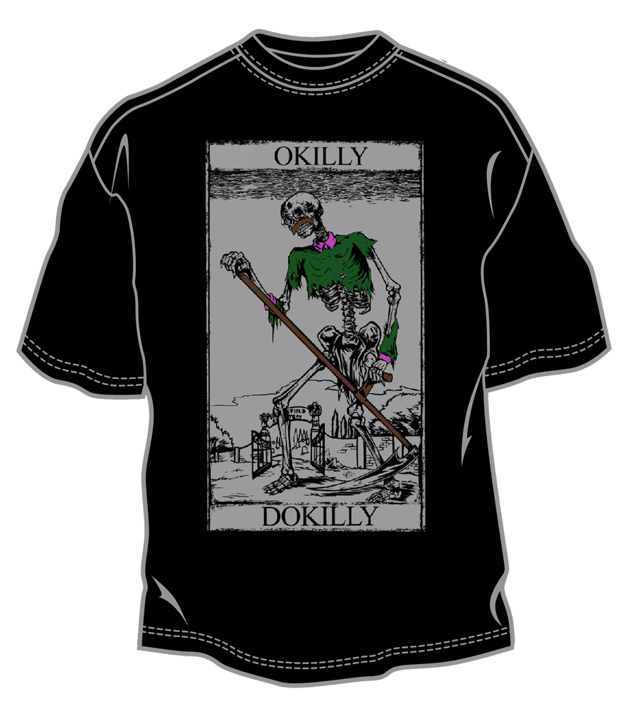 Image of Flandeath Tarot Shirt