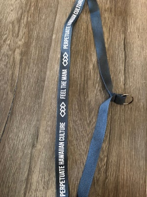 Image of Honor Your Ancestors Lanyard (Gray & White)