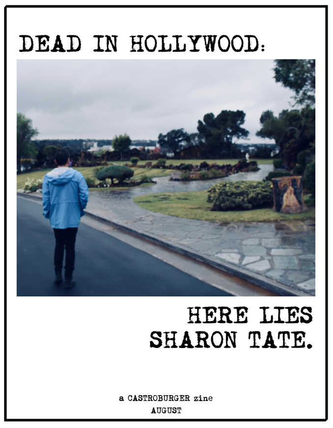 Image of Dead in Hollywood: Here Lies Sharon Tate (Issue #14)