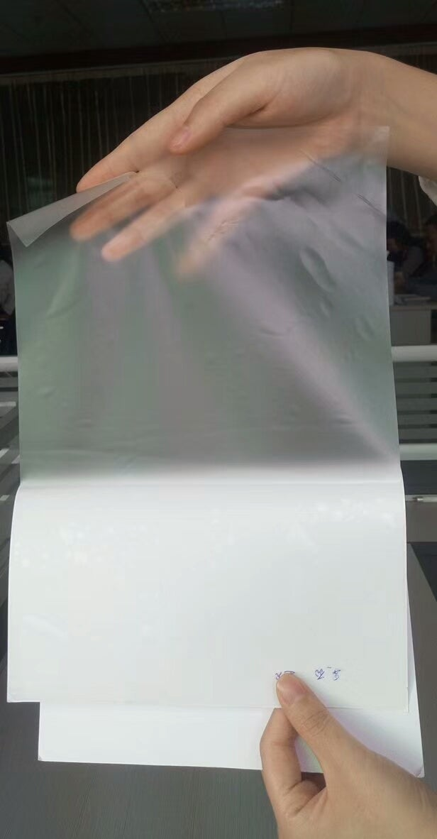 Image of Different Colors Transparent Clear Eggshell Paper Sheet A4 100pcs