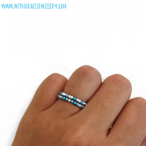Image of Sterling Silver & Turquoise Ring