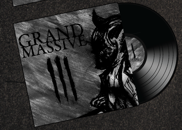 Image of black VINYL - III