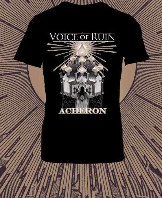 "Image of T-Shirt ""Acheron"" (black or red)"