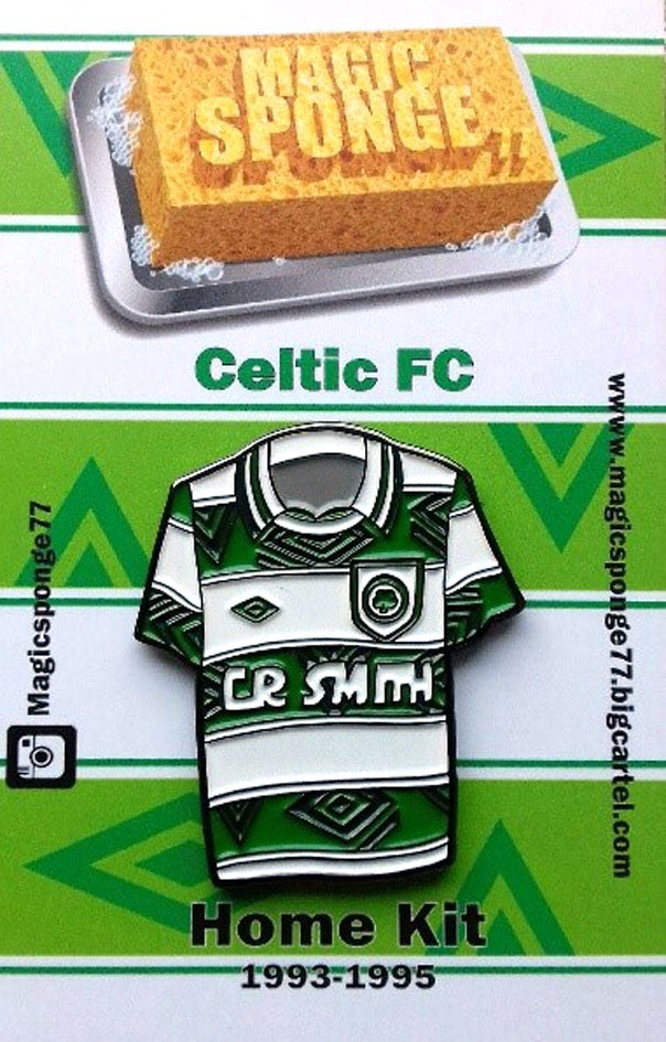 Image of Out Now Classic Celtic FC Home Kit Pin