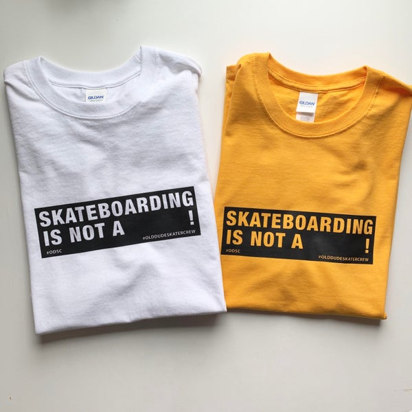 Image of Skateboarding is not a __________