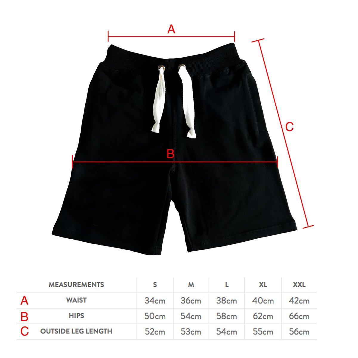 Image of Sin-Eater *Burgundy Shorts*