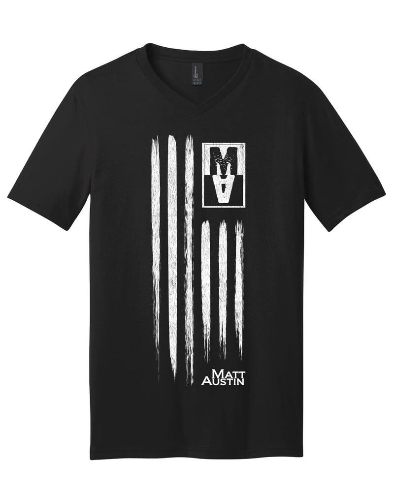 Image of MA American Flag Shirt