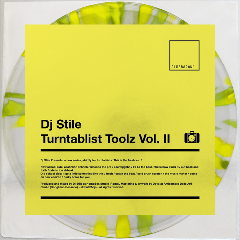 "Image of 7"" Vinyl - DJ Stile - TURNTABLIST TOOLZ VOL. II"