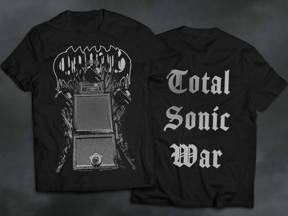 Image of M ONLY 'TOTAL SONIC WAR' T SHIRT