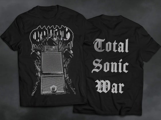 Image of 'TOTAL SONIC WAR' T SHIRT